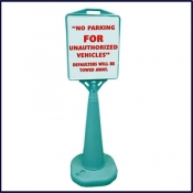 Cone Sign Stand